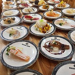 홍대 가성비 좋은 회전초밥 맛집!! 미카도스시 서울홍대점!!